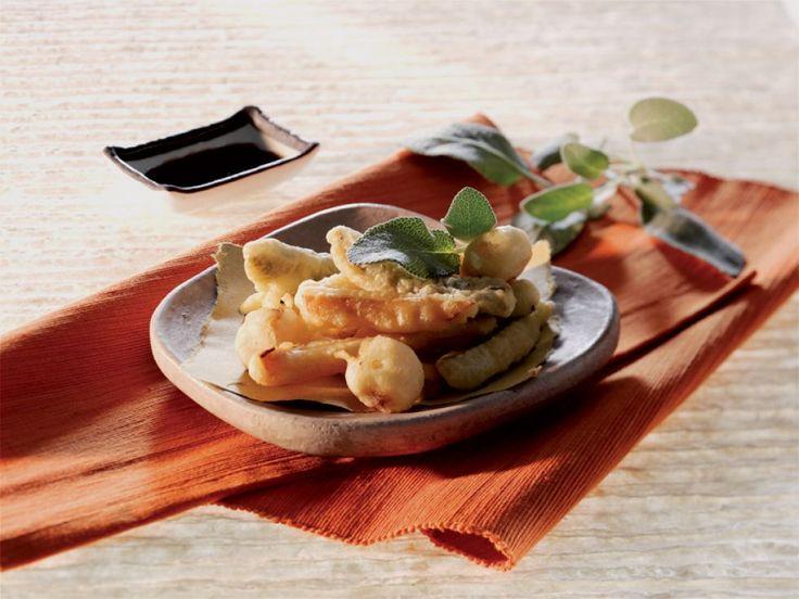 Tempura di verdure con salsa alla soia