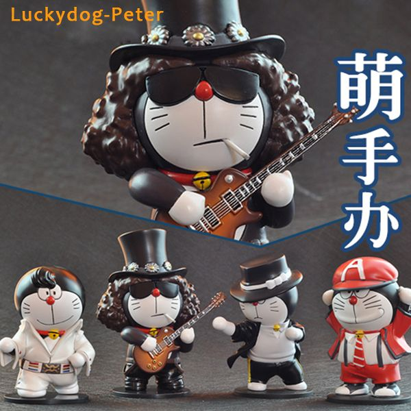 Doraemon Cosplay Elvis Presley Action Figures //Price: $32.18 & FREE Shipping //     #actionfigure
