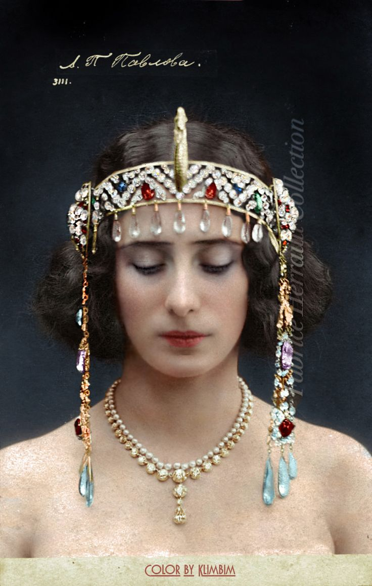 Anna Pavlova in The Pharaoh's Daughter by klimbims on DeviantArt