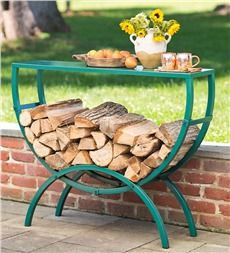 Cool idea for near the firepit - we always need a place to put the s'mores supplies. Pricey though. Rebuild/repurpose.