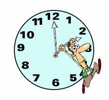 Reloj, Gif animado.