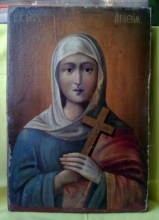 Икона Св. Агаты