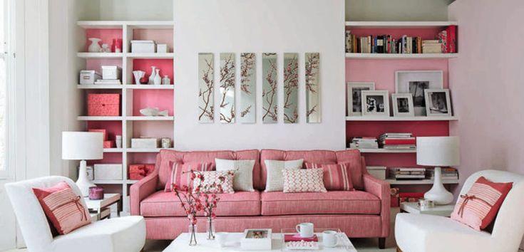 Utilizar el color rosa chicle en la decoración - https://www.decoora.com/utilizar-color-rosa-chicle-la-decoracion/