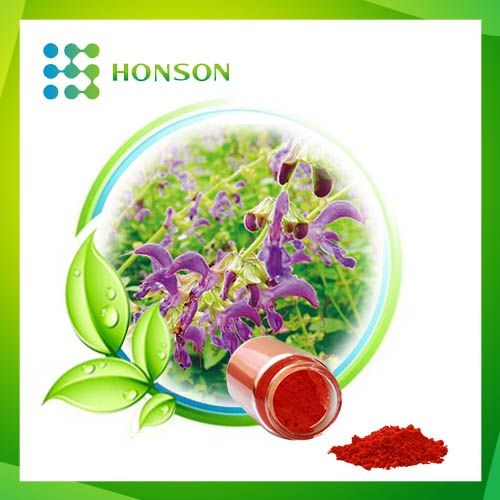 http://www.honsonplantextracts.com/salvia-miltiorrhiza-extract #Salvia #miltiorrhiza #Bge. Inhibits platelet aggregation, but also improve the rheology
