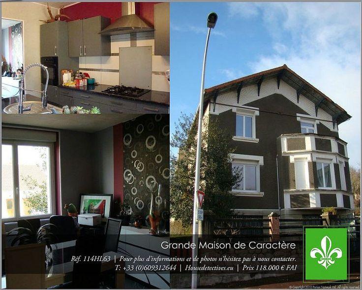 réf 114HL63 Saint Eloy les Mines #immobilier #auvergne