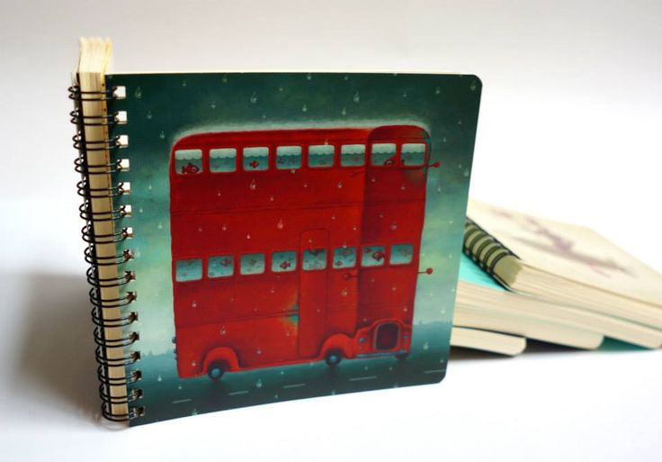 Vali Petridean illustration for ROD notebooks