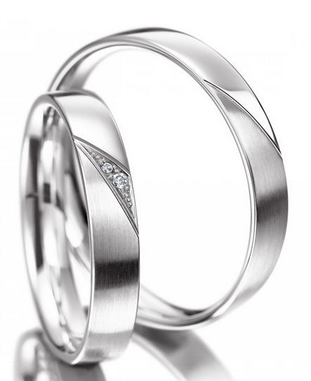 Snubní prsteny z chirurgické oceli OC1120