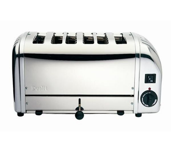 Vario 378701 6-Slice Toaster - Stainless Steel