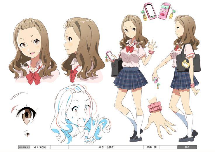 """Character Design Guide : """"hill climb girl khara website http"""
