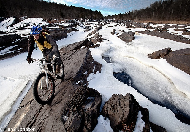 Dancing in the Dragons Teeth: Fat Biking the Dalles of the St.Louis River