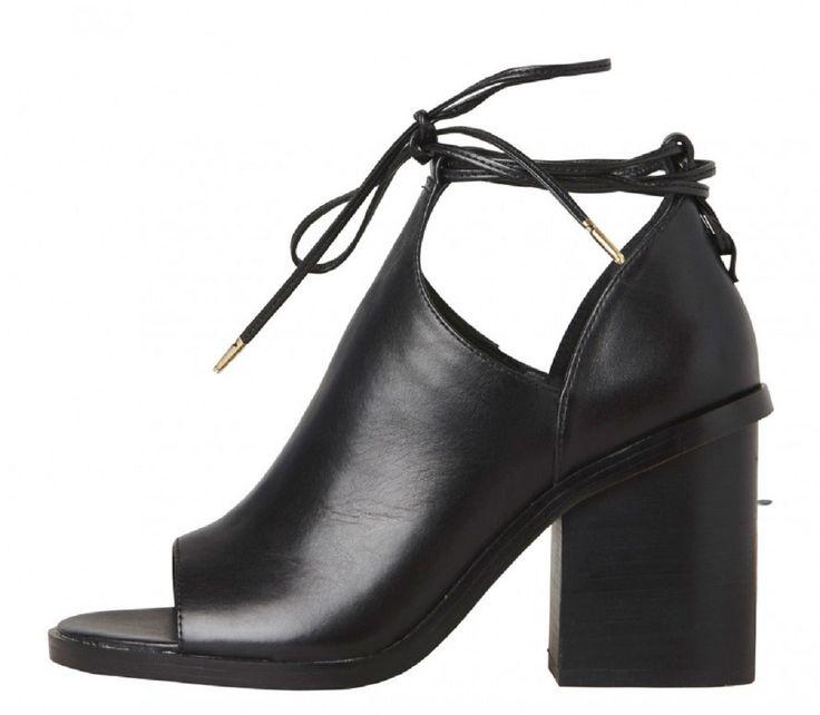 Windsor Smith - Berlin Black Leather