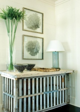not this style, but could we cover the radiator and make it into a table like this?