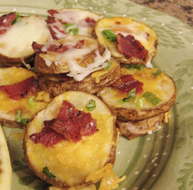 Cheese and Bacon Potato Rounds | Yummy stuff! | Pinterest