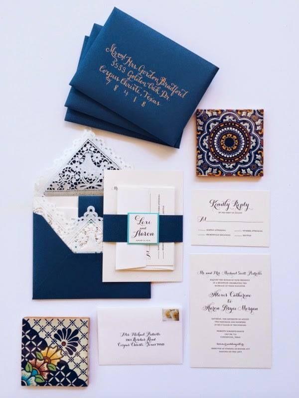 Spanish Wedding Invitations – Se le Invita! #StyleMePretty for #ohsoinspired15 http://www.stylemepretty.com/