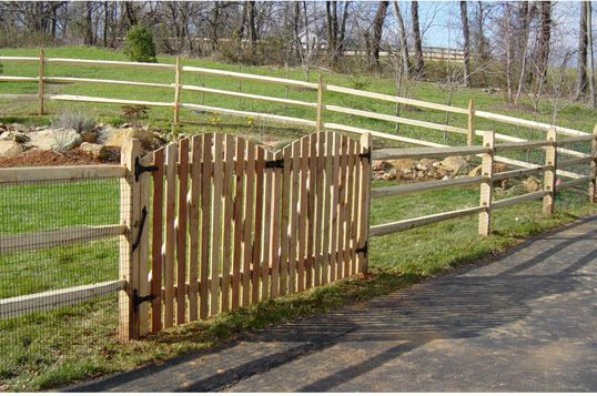 Split Rail Fence Gates Split Rail With Picket Gate