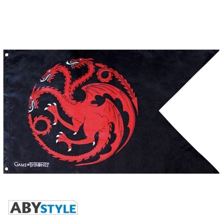 GAME OF THRONES Drapeau Game of Thrones Targaryen (70x120)