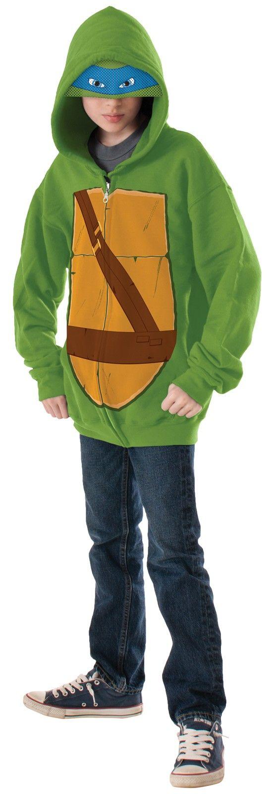 Teenage Mutant Ninja Turtles-Leonardo Kids Hoodie