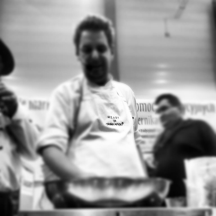 Wojciech Modest Amaro  http://wheresthefoodpl.blogspot.com/2012/10/natura-food-2012.html