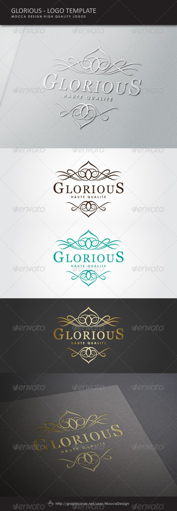 Glorious Logo - Crests Logo Templates