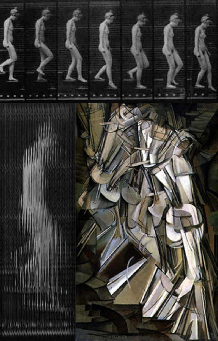 Marcel Duchamp / Eadweard Muybridge.