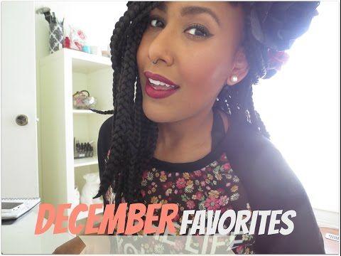 December Favorites | Ms Nicole Fiona - YouTube