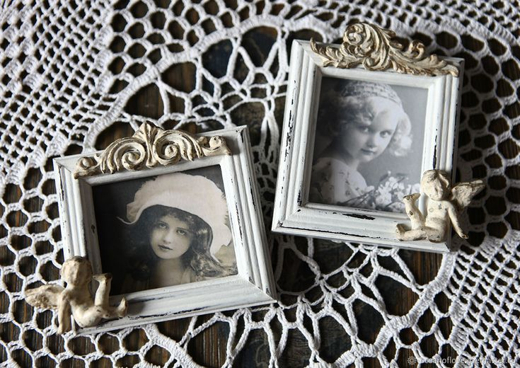 VINTAGE CHARM. Small photo frames – shop online on Livemaster with shipping