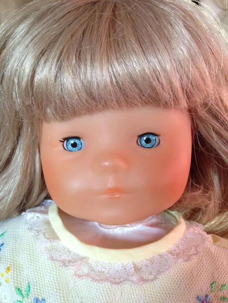 """Rare COROLLE 20"""" Toddler Baby Doll Les Poupees Blonde France Catherine '83 #DollswithClothingAccessories"""