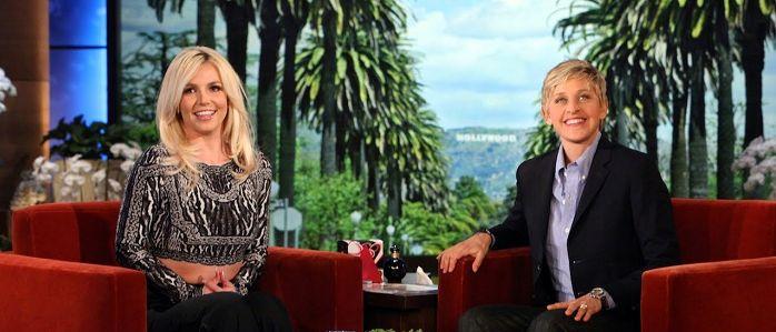 Britney Spears faz referência a Shakira junto com Ellen DeGeneres