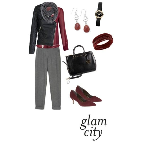 A fashion look from October 2014 featuring Jessica Choay blouses, ONLY jackets and Reiss pumps. Browse and shop related looks.