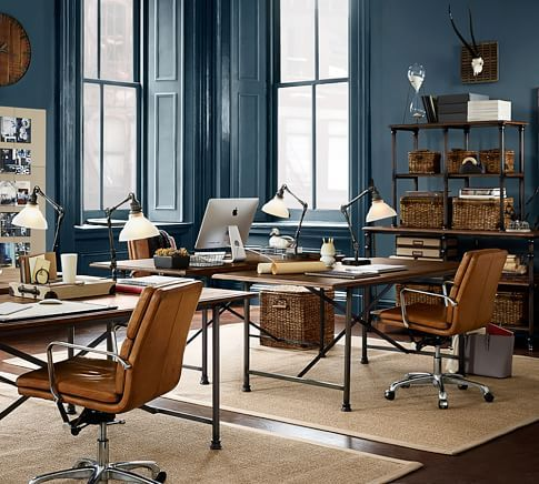 create a functional and stylish workplace with pottery barns home office furniture