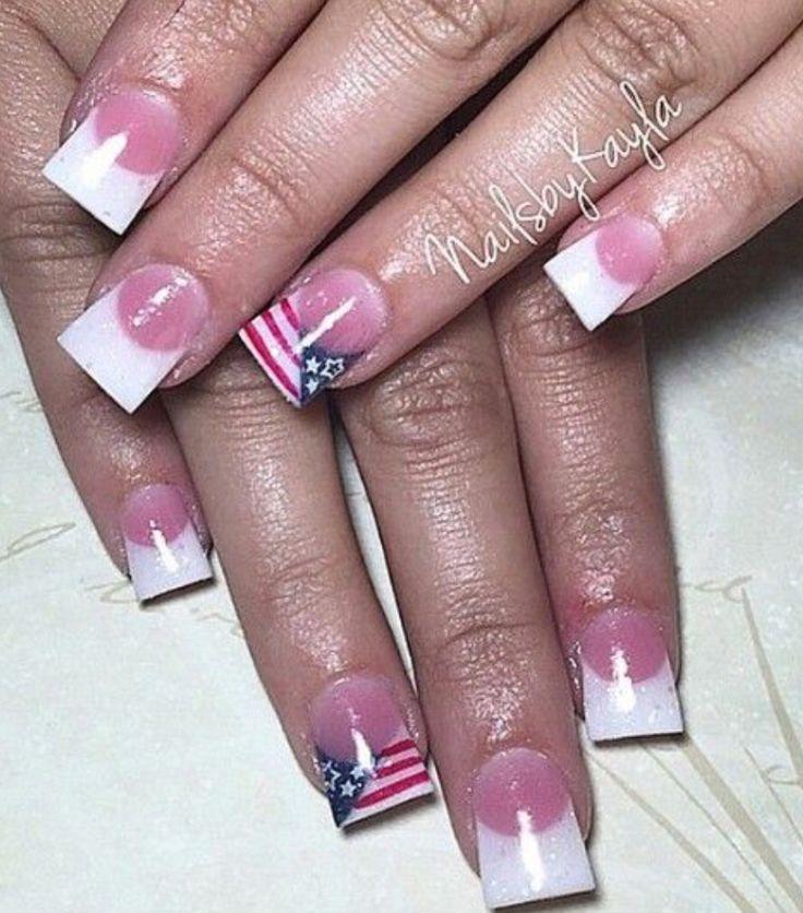 Acrylic nails by Kayla