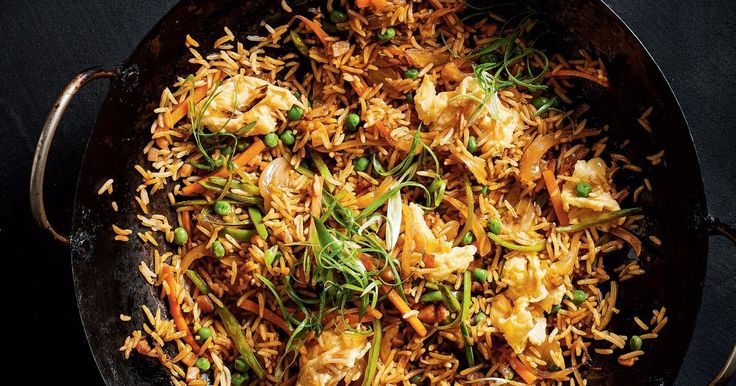 Packedwith bacon, snow peas and ginger, this Korean fried rice is sure to give your main meal some spice.