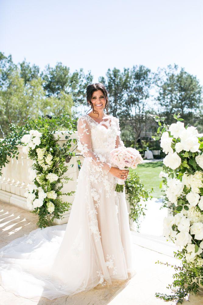 Outdoor Jewish Wedding Ceremony Luxe Reception In California