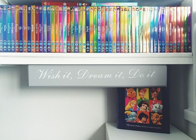 Disney shiny DVD collection :)