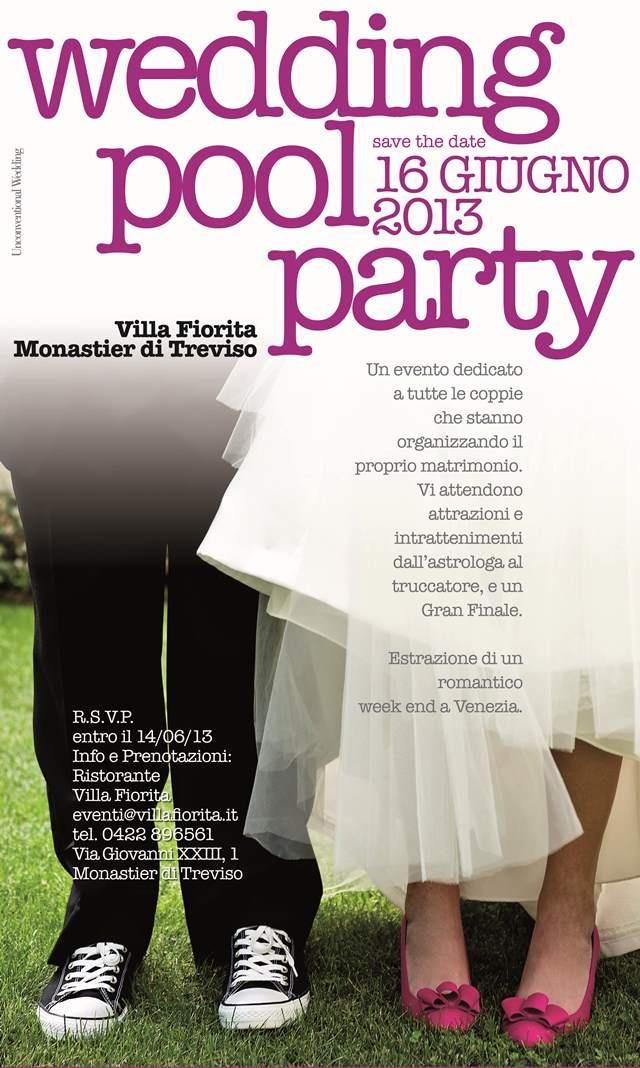 #wedding #poolparty @Ristorante Villa Fiorita - Monastier (TV) - 16 Giugno 2013