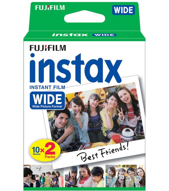 Fujifilm instax instant film wide 2 Pack BNIB (bought on accident when I have the instax mini)