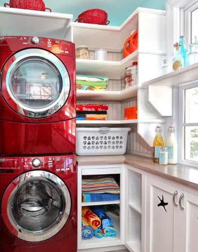 laundry room set up?