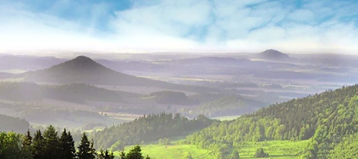 Lower Silesia - the land of extinct volcanoes