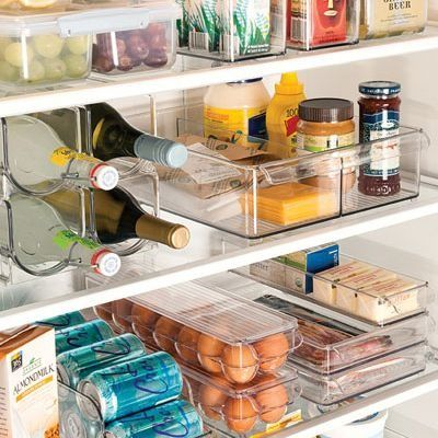 How to easily find what you're looking for in your fridge and freezer. Check out our tips!