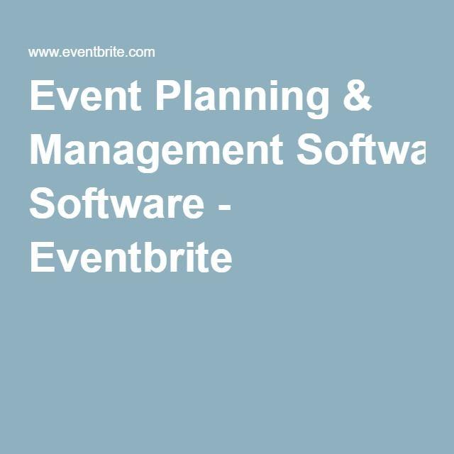 Event Planning & Management Software - Eventbrite