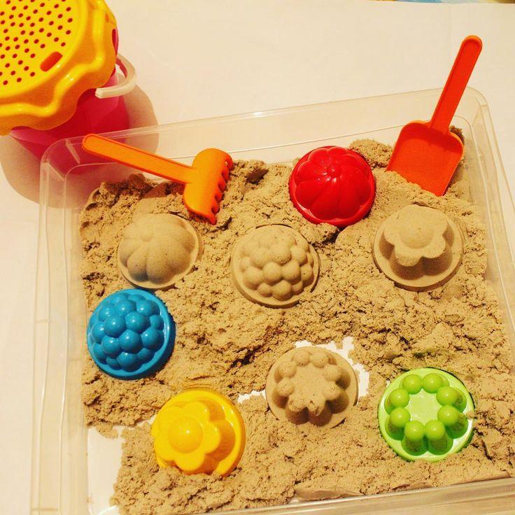 Волшебный развивающий песок для детей