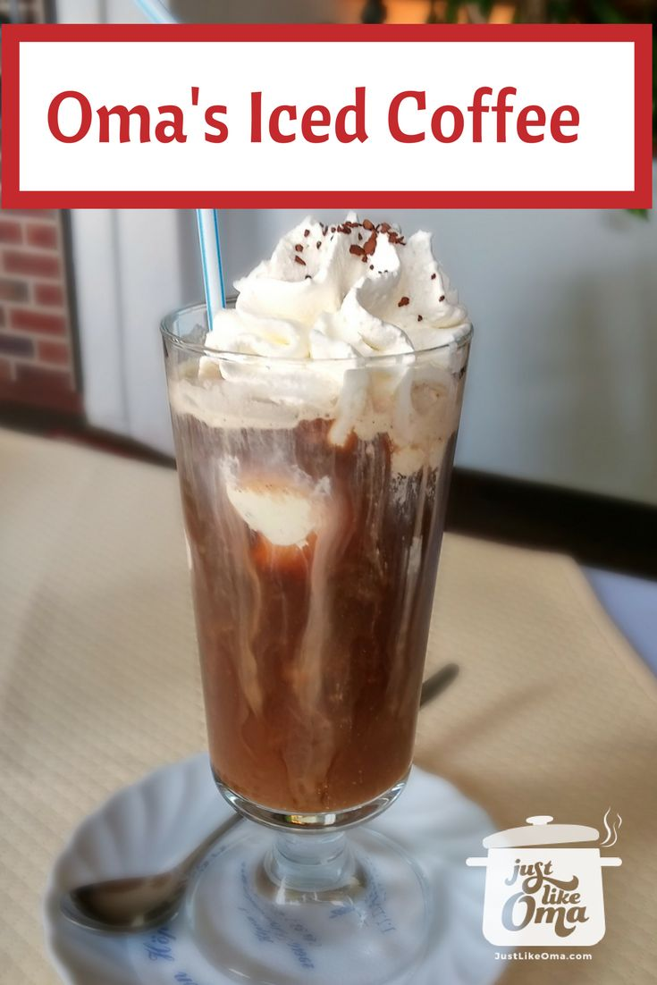 German Style Iced Coffee Eiskaffee Such An Easy And Delicious Dessert