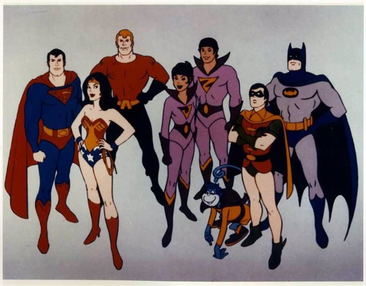 Super Friends - great. Cartoon, watched it every sat morning. #rebuildingmylife