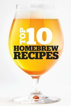 Top 10 Homebrew Recipes This Year