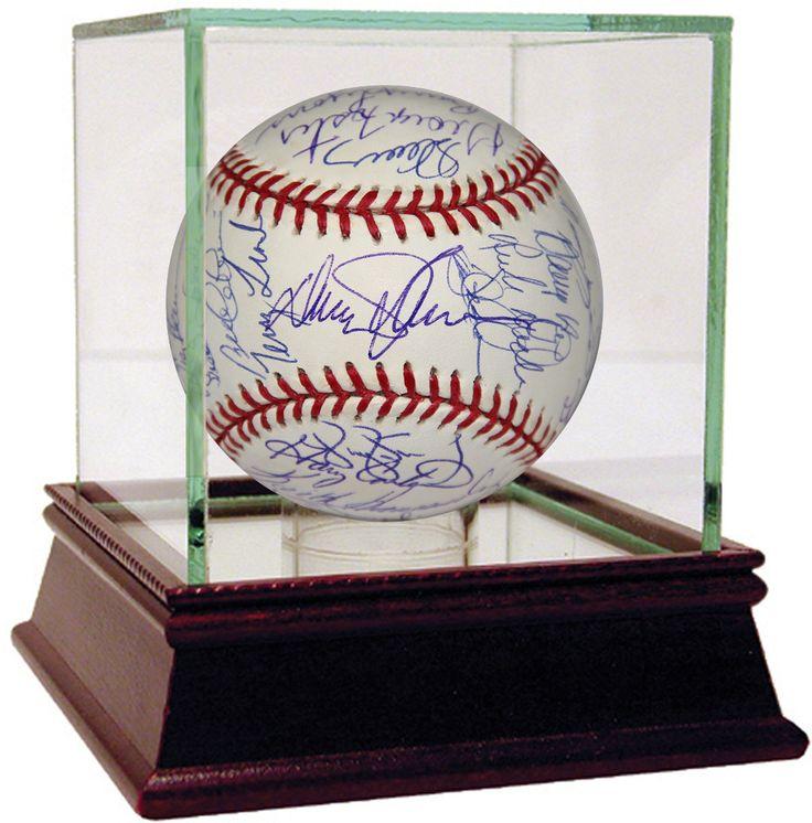1986 New York Mets Team Signed MLB Baseball w/ Gary Carter (35 Signatures) (PSA/DNA)