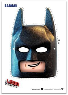 9 Easy to make Free Lego Movie Printable Masks! These Include Emmet, Batman, Wyldstyle, SuperWoman and more. These Masks are perfect for 3 to 10 year olds.