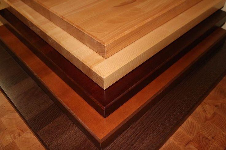 24x24x1 1/2 NEW restaurant tabletop butcherblock type wallnut finish