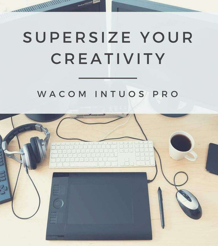 Supersize Your Creativity: A Review of the Wacom Intuos Pro Large Graphics Tablet and Pen with Multi-Touch.