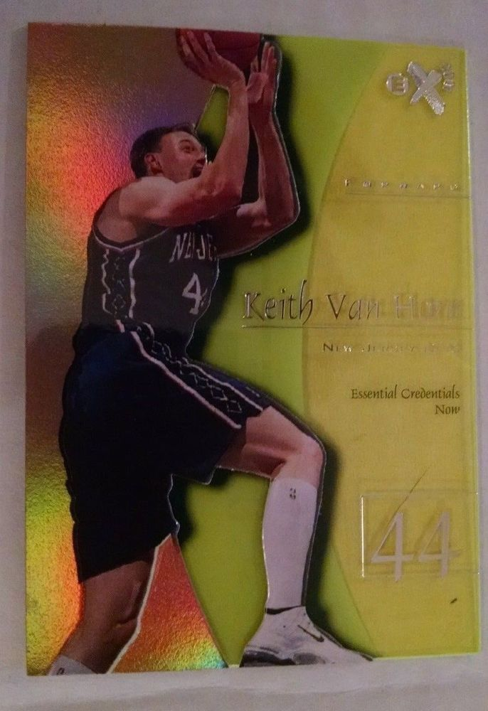 1997-98 E-X2001 Essential Credentials Now #74 Keith Van Horn 02/74 #NewJerseyNets