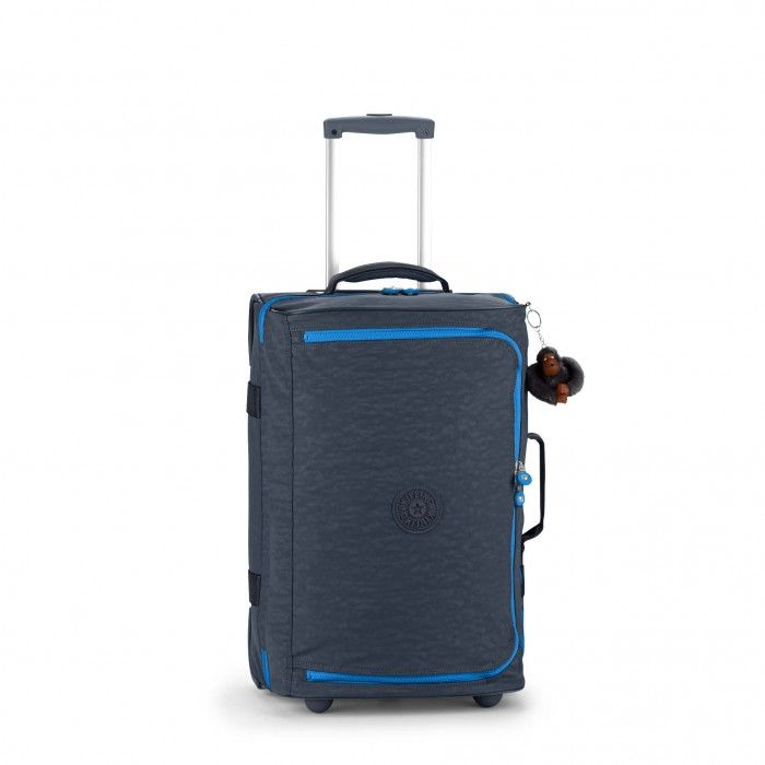 Kipling Basic Wheeled Luggage Teagan S Trolley-Reisetasche Grey Night C